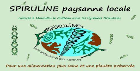 spiruline foret vert logo bannière site